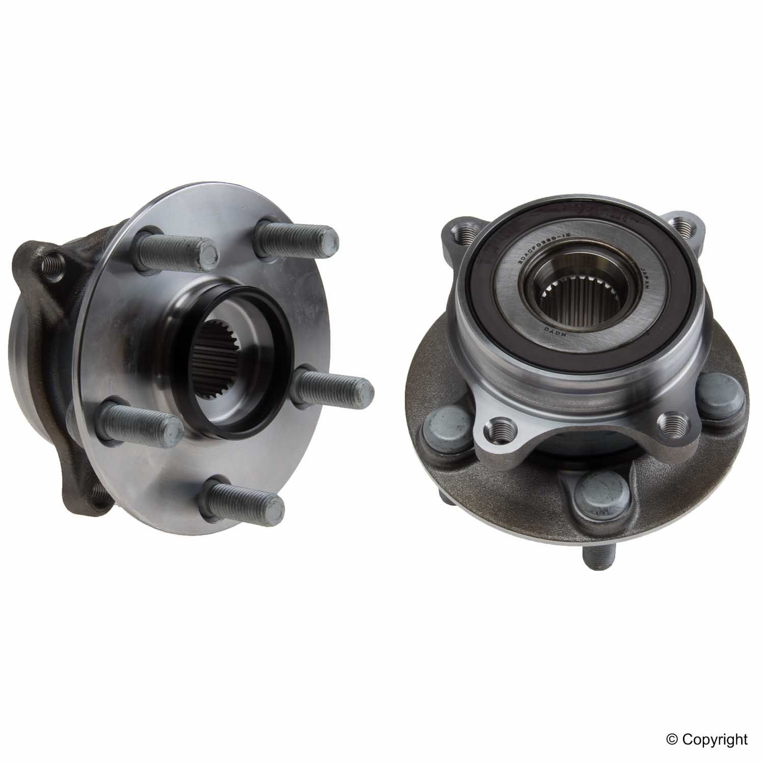 Toyota Axle Bearing and Hub Assy 3DACF038D15BR