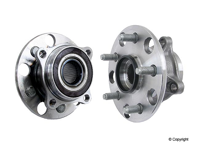 Lexus Axle Bearing and Hub Assy 3DACF044D9GR