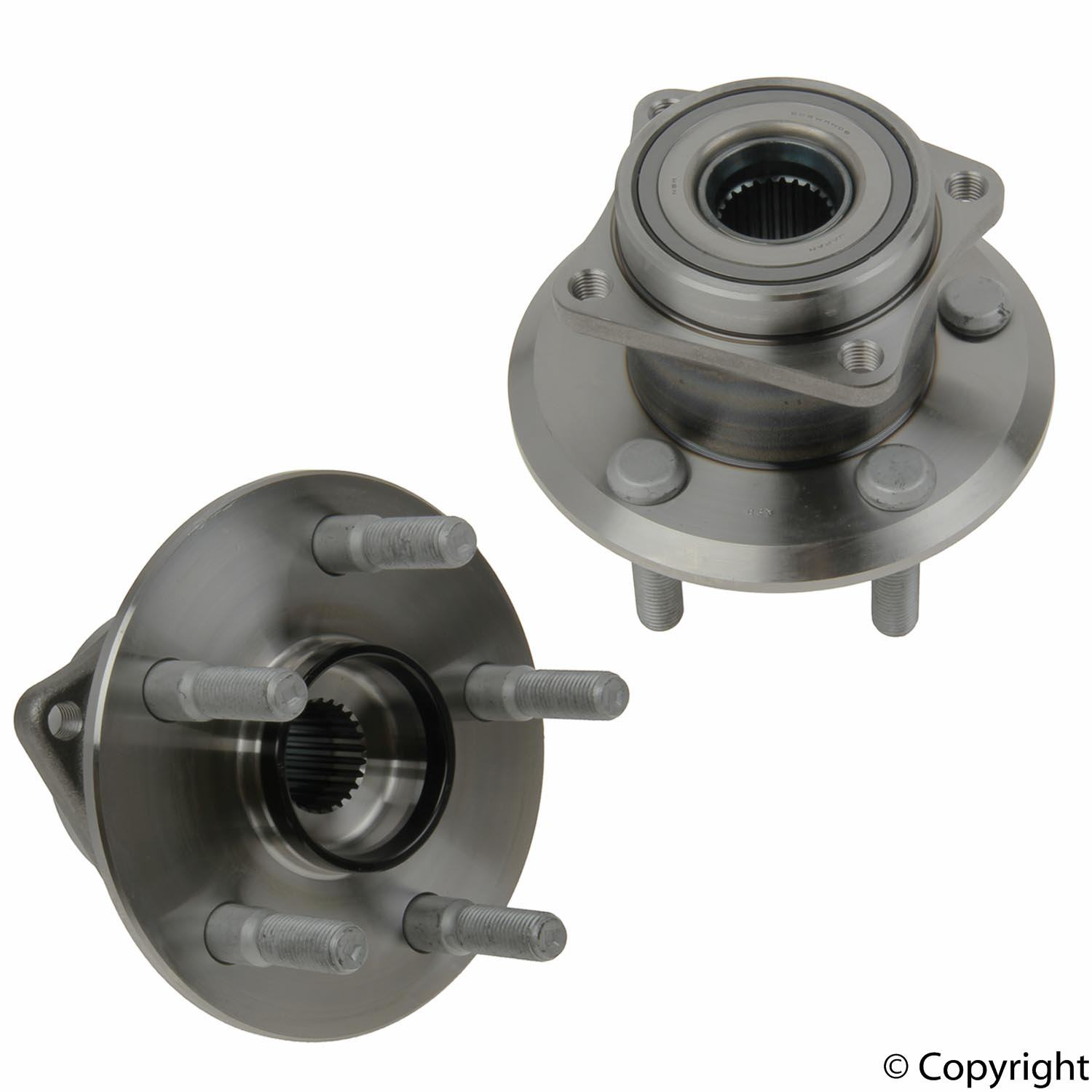 Toyota Axle Bearing and Hub Assy 55BWKH06