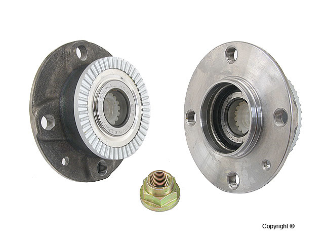 Saab Axle Bearing and Hub Assy 8973406